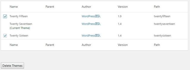 如何删除WordPress主题文件夹存放在哪个目录?